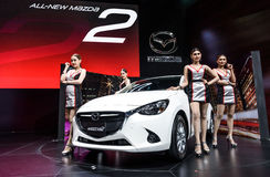 All-New Mazda 2 Stock Photography