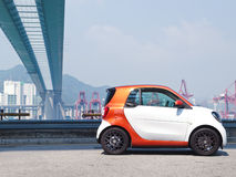 All New Smart fortwo 2015 Test Drive Day Stock Images