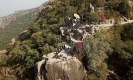 Honeymoon Rock in Mt. Abu in India