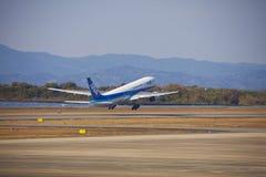 All Nippon Airways (ANA) samolot Obrazy Stock