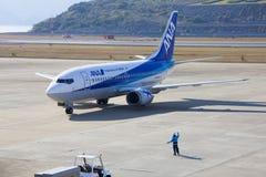 All Nippon Airways (ANA) samolot Zdjęcia Stock