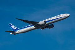 All Nippon Airways Boeing 777 Στοκ Εικόνες