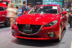 All ny halvkombi Mazda3 Fotografering för Bildbyråer