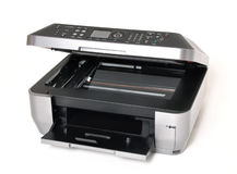 All in one color printer Royalty Free Stock Photos