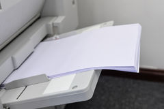 All-in-one copier and printer. The all-in-one copier and printer Stock Photo