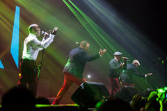 All-4-One Performance Stock Image