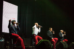 All-4-One Performance Royalty Free Stock Image