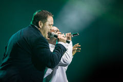 All-4-One Performance Royalty Free Stock Images