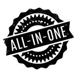 All-In-One rubber stamp Royalty Free Stock Photo