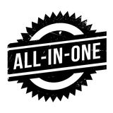 All-In-One rubber stamp Stock Photos