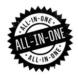 All-In-One rubber stamp Stock Images