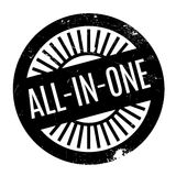 All-In-One rubber stamp Stock Image