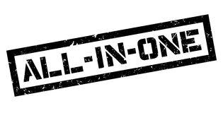 All-in-one rubber stamp Stock Photo