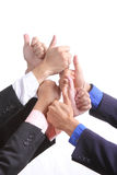 All for one teamwork concept Royalty Free Stock Photos