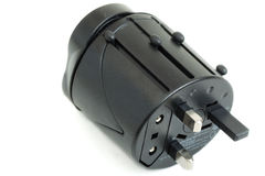 All-in-one Universal Travel Adapter. (Plug Converter US UK EU AU Royalty Free Stock Images