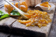 All orange marmalade Royalty Free Stock Image