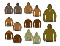 All outdoor apparel in full set Stock Photography