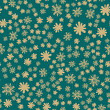 Green Seamless Childish Print. All over Green Seamless Childish Print Stock Photos