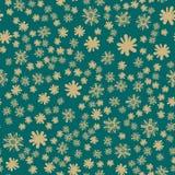 Green Seamless Childish Print Stock Photos