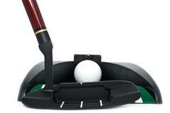 All for playing golf in an office Royalty Free Stock Photos