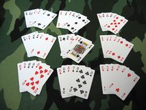All poker Stock Images