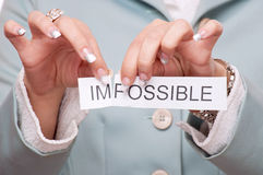 All is possible Royalty Free Stock Photo