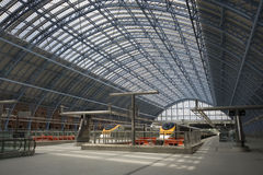 All quiet at St Pancras stock photo