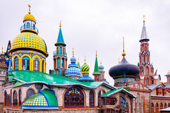 All religions temple of Kazan stock images