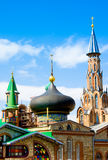 All Religions Temple in Kazan, Russia stock photos