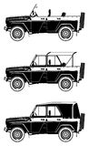 All-road vehicle Royalty Free Stock Photos