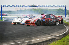 All-Russian competitions in drifting Royalty Free Stock Image