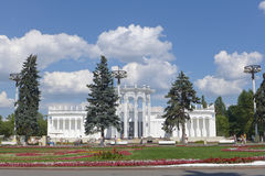 All-Russian Exhibition Center, Moscow, Russia. Pavilion of Uzbekistan Royalty Free Stock Images