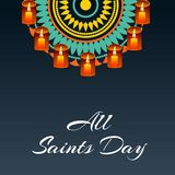 All Saint`s Day. Royalty Free Stock Photography