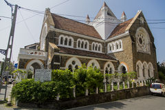 All Saints Anglican Church in Galle, Sri Lanka. The church was built in 1871 and it is one of the most beautiful Anglican Churches in Sri Lanka Royalty Free Stock Photography