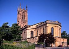 All Saints Cathedral, Derby, England. Royalty Free Stock Photography