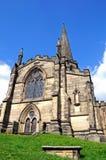 All Saints church, Bakewell. All Saints Parish Church and churchyard, Bakewell, Derbyshire, England, UK, Western Europe Stock Photography