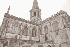 All Saints Church, Bakewell; Peak District Royalty Free Stock Photography