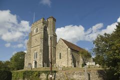 All Saints Church at Birling  Kent Royalty Free Stock Photo