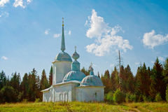All saints church in cherdyn Stock Photography