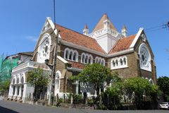 The All Saints Church within the Galle Fort complex royalty free stock photo
