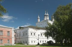 All Saints Church of The Goritsky Monastery in Pereslavl-Zalessk Stock Photography