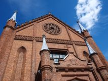All Saints Church in Kornik, Poland Stock Photography