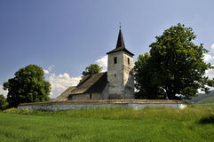 All-Saints church, Ludrová - slovakia Royalty Free Stock Photography