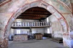 All-Saints church, Ludrová -balcony interior Stock Images
