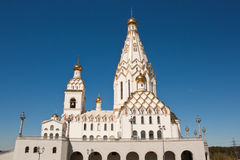 All saints church in Minsk Stock Photo