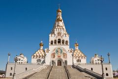 All saints church in Minsk Stock Photos