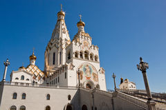 All saints church in Minsk, Belarus Royalty Free Stock Photography