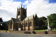 All Saints Church Northallerton. The front of All Saints Church in North Yorkshire, England Royalty Free Stock Image