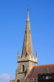 All Saints church spire, Evesham. Royalty Free Stock Images