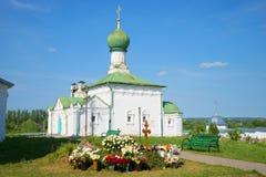 All Saints ' Church (1687) in the Trinity Danilov monastery. Pereslavl-Zalessky Royalty Free Stock Images